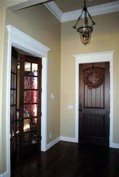 stained trim  painted closet doorspinterest color dark doors  good  dark