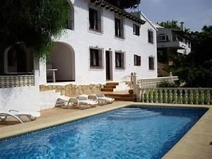 location villa moraira 8 pers costa blanca location With attractive location villa bord de mer avec piscine 8 villas de luxe en espagne location espagne villa