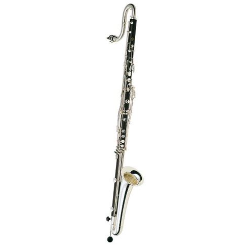 buffet contra alto clarinet eb silverplated bc1553 2 frederic h weiner