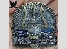 United States Navy Minesweeper Coin USN Coins
