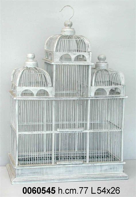 Gabbie Per Uccelli Decorative Antica Soffitta Gabbia Per Uccelli Decorativa 77cm Shabby