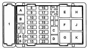 2006 Ford E350 Fuse Panel Diagram