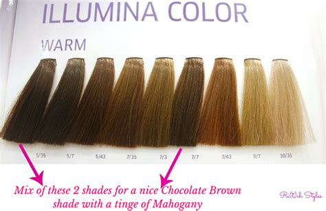 Wella Illumina Colour Chart 5 35