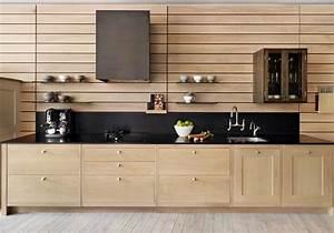 Meuble Cuisine Bois Naturel : renovation meuble cuisine bois deco maison moderne ~ Teatrodelosmanantiales.com Idées de Décoration