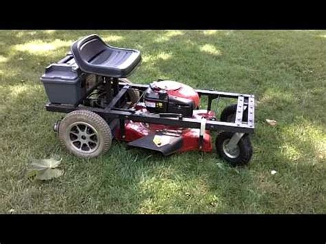 remote controlled lawn mower lawnrover m3736 youtube