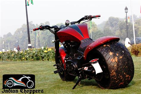 Modified Enfield Bikes In Delhi with dummy v from indian chopper 350cc