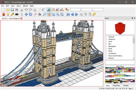 leocad lets  design build custom lego creations