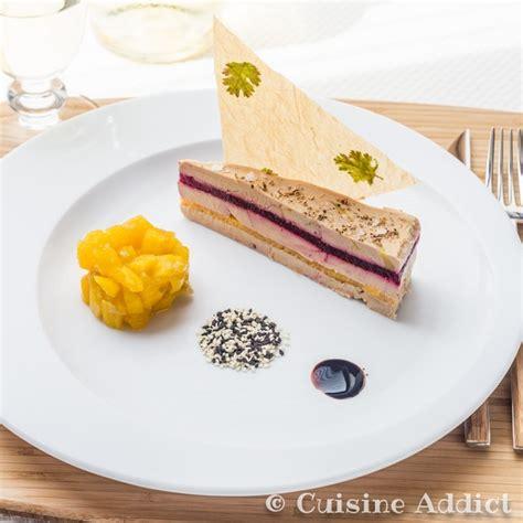 inventer une recette de cuisine millefeuille de foie gras mangue betterave chutney de