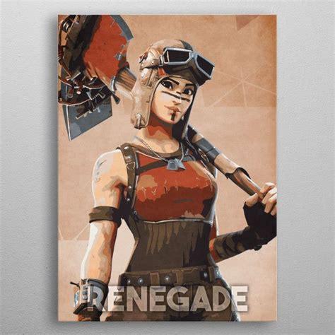 renegade  durro art metal posters   game art