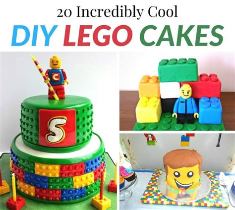incredibly diy things you 20 incredibly cool diy lego cakes moment 20