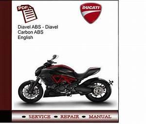 Ducati Diavel Abs Diavel Carbon Abs Service Manual