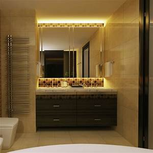 eclairage salle de bain led With eclairage led meuble salle de bain