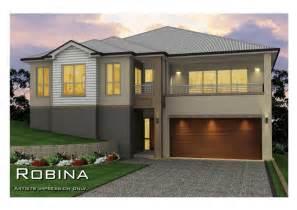 split level designs robina split level sideways sloping design home design tullipan homes