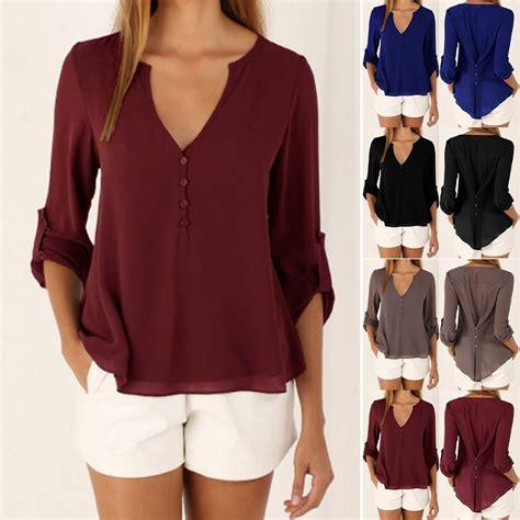 summer blouse fashion 39 s summer chiffon tops
