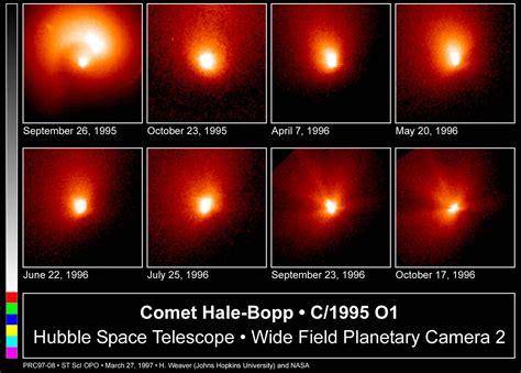 comet hale bopp esahubble