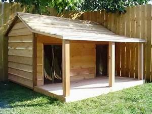 Diy dog house for beginner ideas for Large dog house blueprints