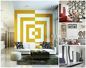 Dco Murale Salon En 50 Ides Originales Et Modernes