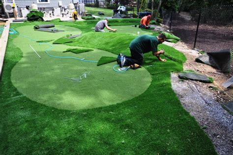 cost of artificial putting green artificial grass suppliers synthetic turf installation amity harbor ny 11701 deck and