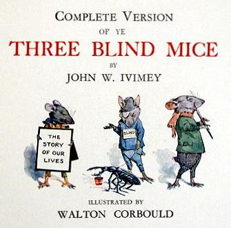 Three Blind Mice Quotes