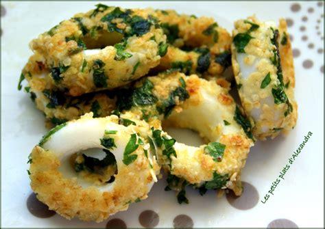 cuisiner les calamars calamars en croûte de persillade les petits plats d