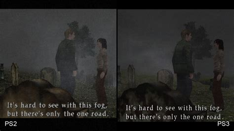 silent hill  hd ps  ps comparison video eurogamernet
