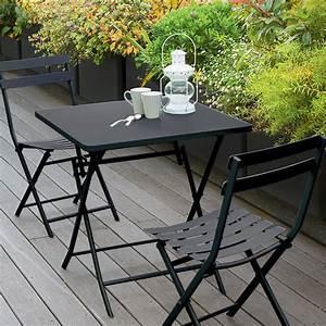 Table De Balcon Pliante : table de balcon pliante carr e greensboro graphite ~ Melissatoandfro.com Idées de Décoration