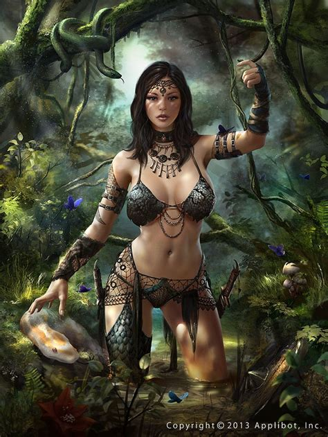 Best Images About Fantasy Paintings Of Women On