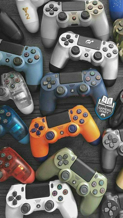 ps4 games ps sick controllers parede papel