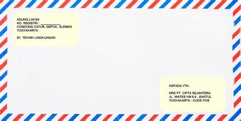 Tulisan Map Lamaran Kerja by Contoh Kop Surat Lamaran Lop