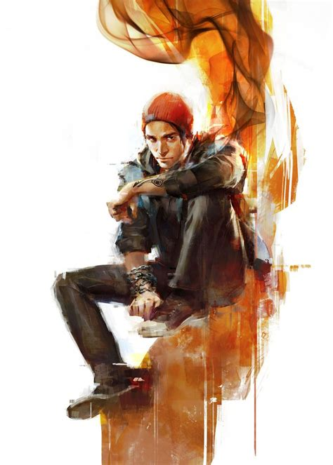 24 Best Delsin Rowe Infamous Second Son Images On