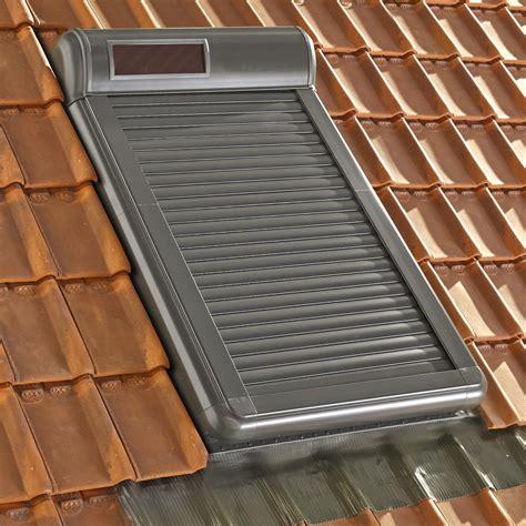 volet fen 234 tre de toit roulant 224 233 nergie solaire artens arz solar leroy merlin