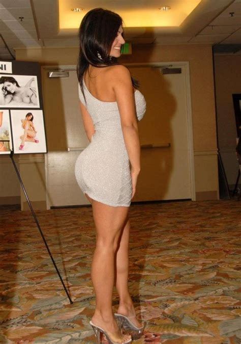 Cute chicks in tight dresses