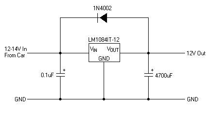 Simple Power Supply Regulator Circuit Diagram