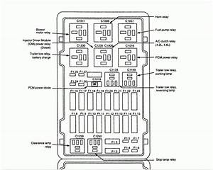 2000 Ford E150 Fuse Box Diagram