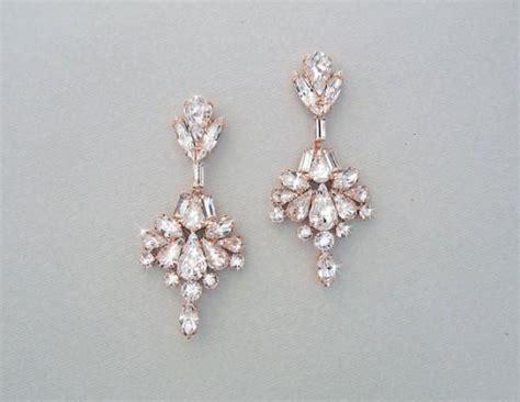 wedding earrings chandelier earrings bridal earrings