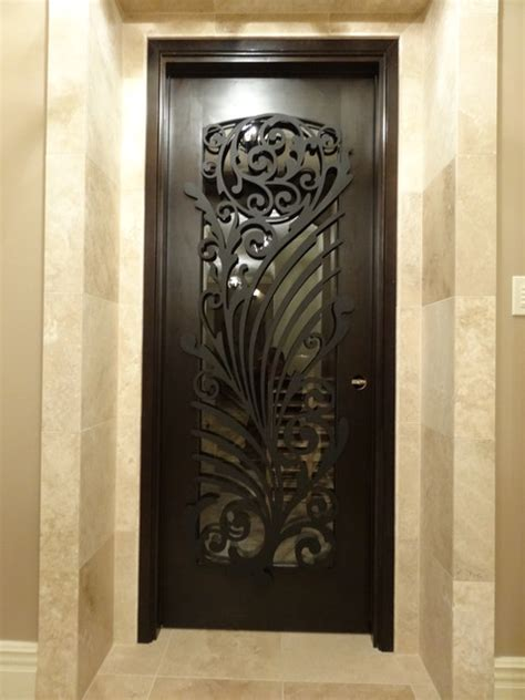 Interior Iron Doors by Ornamental Iron Screens For Doors Modern Interior