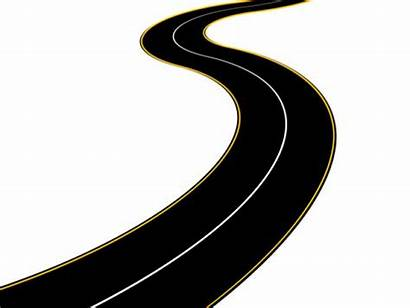 Road Winding Clipart Country Roadway Clip Different