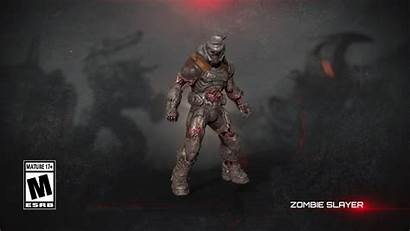 Doom Slayer Zombie Eternal Lives