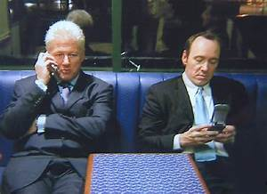 Bill Clinton Kevin Spacey And Me In A Blackpool McDonalds Dan Forshaw