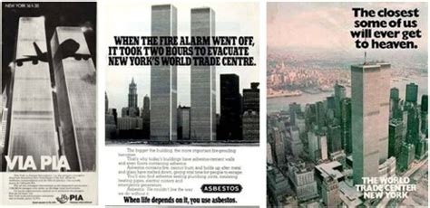 foreboding ads featuring  world trade center boing boing