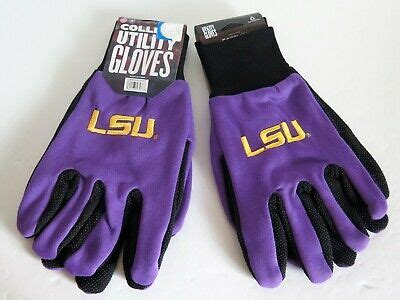 TWO (2) PAIR OF LSU TIGERS, SPORT UTILITY GLOVES FROM ...