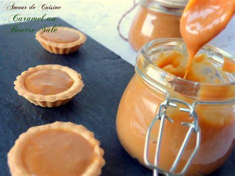 sauce caramel au beurre sal 233 amour de cuisine