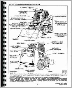 Bobcat 753 Skid Steer Loader Service Manual