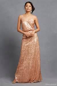 copper bridesmaid dresses donna collection serenity collection wedding inspirasi