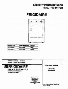 Frigidaire Frigidaire  Elec Dryer