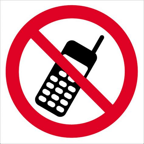 No Mobile Phonessign Signs 2 Safety