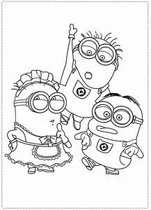 Despicable Me Coloring Pages - AZ Coloring Pages
