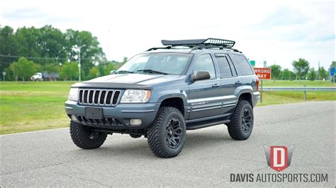 jeep grand wj davis autosports jeep grand wj lifted for sale 47k