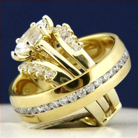 home improvement wedding rings sets for him and her