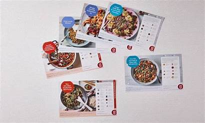 Gousto Recipe Cards Recycle Folder Box Meal